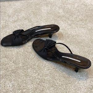 Donald Pliner Black Sandals